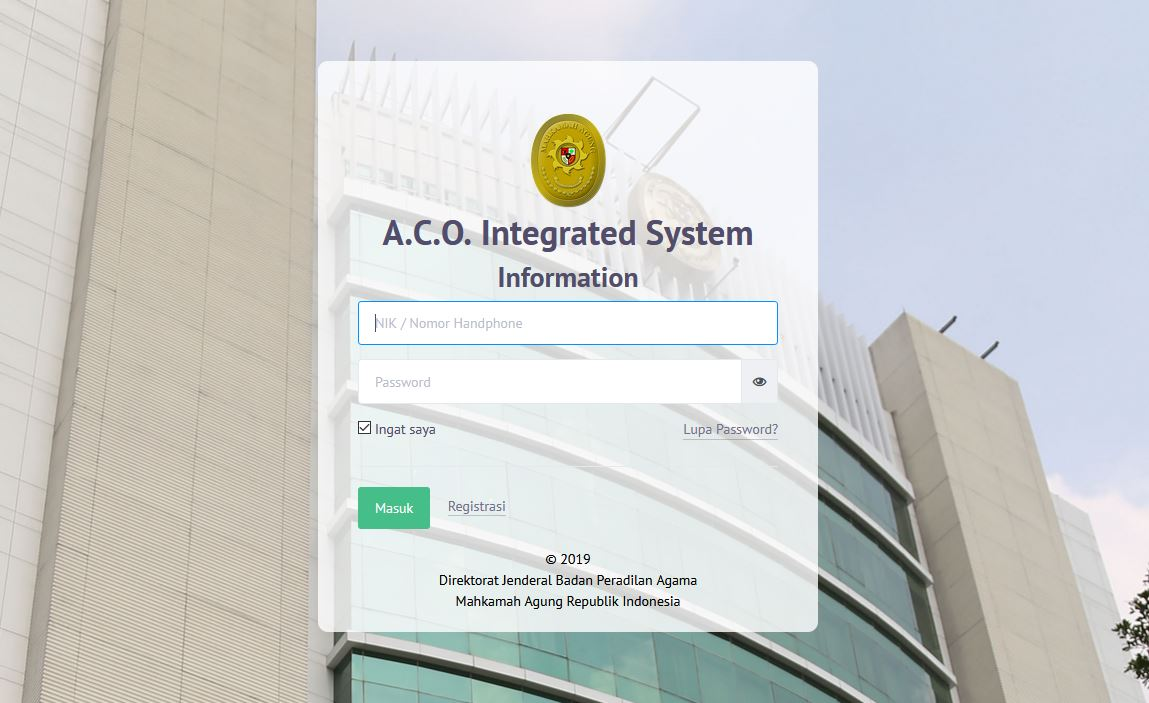 A.C.O INTEGRATED SYSTEM